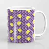shell Mugs featuring shell by MelleNora