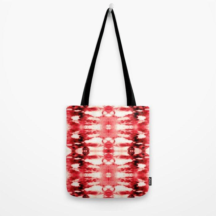 Tie-Dye Chili Tote Bag