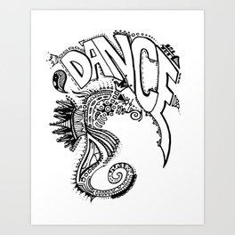 """Ocean Dancer""  Art Print"