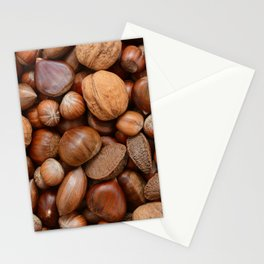 Mixed nuts Stationery Cards