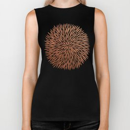 Rose Gold Burst Biker Tank