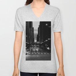 Chicago Noir ... Unisex V-Neck