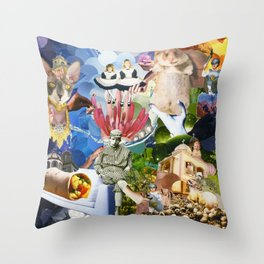 From a Coma Throw Pillow