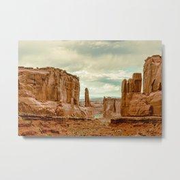 Utah - Red Sandstone Spires Metal Print
