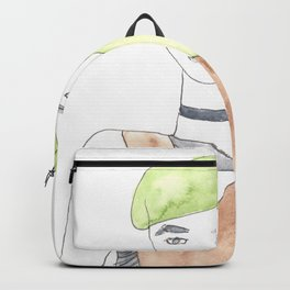 170404 Random 3 |Modern Watercolor Art Backpack