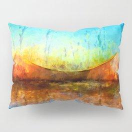 Birch Bark Canoe Pillow Sham