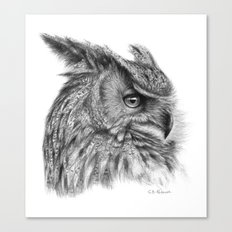 Eagle Owl G085 Canvas Print