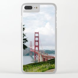 San Francisco's Golden Gate Glory Clear iPhone Case