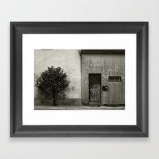 Your world, My world Framed Art Print