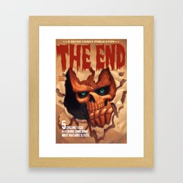 The End in 5 Chilling Tales Framed Art Print