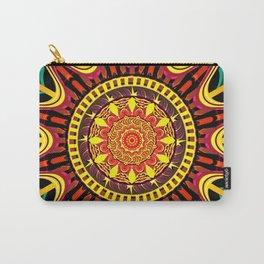 Mandala orange Carry-All Pouch