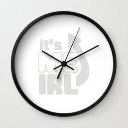 It's Me IRL Wall Clock