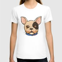 frenchie T-shirts featuring Frenchie by The Audyssey