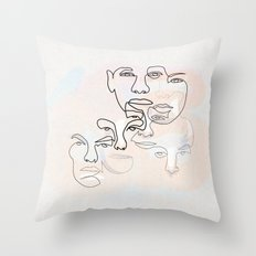 And they are all a story to be told Throw Pillow