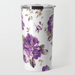 VINTAGE FLOWER1 Pop Art Travel Mug