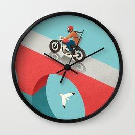 Riding Wall Clock