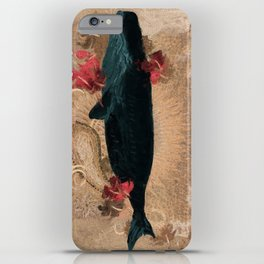 The Flying Whale iPhone Case