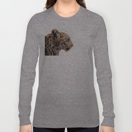 Wooden panther Long Sleeve T-shirt