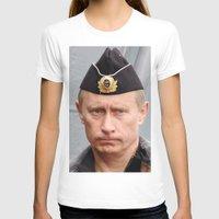 putin T-shirts featuring Putin seaman. by Mikhail Zhirnov