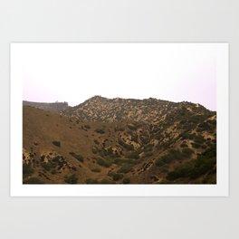 Glendale Peaks & Valleys Art Print