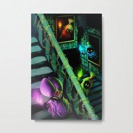 Zelda: Poe Sisters Metal Print