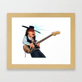 Stevie Ray Vaughan Framed Art Print