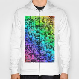 Starrider -- Abstract cubist color expansion Hoody