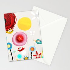 Invent new feelings everyday Stationery Cards