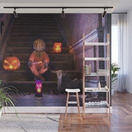 Halloween Rules Enforcer Wall Mural