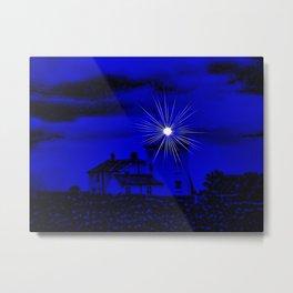 Eerie Cromer Lighthouse Metal Print