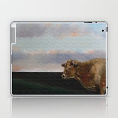 cow thinking about grass Laptop & iPad Skin