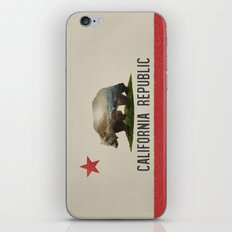 California Grizzly Bear Flag iPhone & iPod Skin