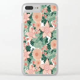 Succulents in Bloom Clear iPhone Case