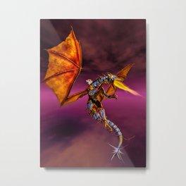 Dragon Rider C Metal Print