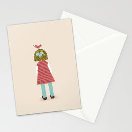 Toddler Hair Stationery Cards