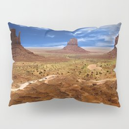 Monument Valley HDR Pillow Sham