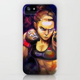 Arm Bar Queen iPhone Case