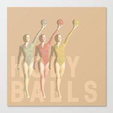 holy balls Canvas Print