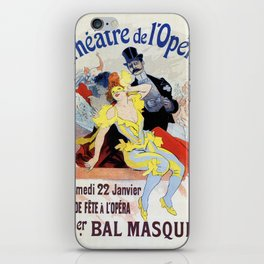 1897 Masquerade ball Paris Opera iPhone Skin