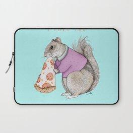I LOVE PIZZA Laptop Sleeve