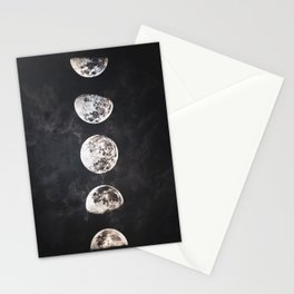 Mistery Moon Stationery Cards
