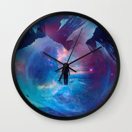 I am tired of earth Dr manhattan Wall Clock