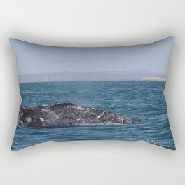 Cecilia, Pacific Gray Whale, Rectangular Pillow