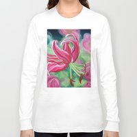 lily Long Sleeve T-shirts featuring lily by Beth Jorgensen