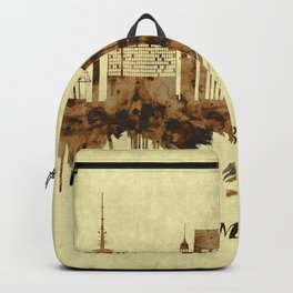 Hamburg Germany Cityscape Backpack