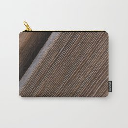 Wooden beams Pattern Carry-All Pouch