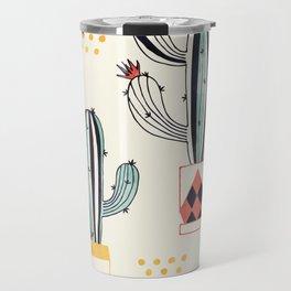 Cactus in a Pot Travel Mug