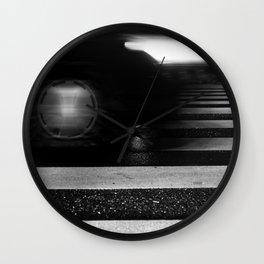 new tire Wall Clock