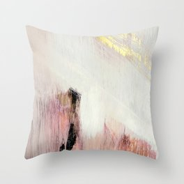sunrise 2 a bright colorful abstract piece in pink gold