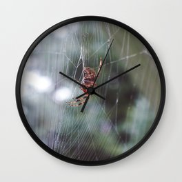 the weaver Wall Clock